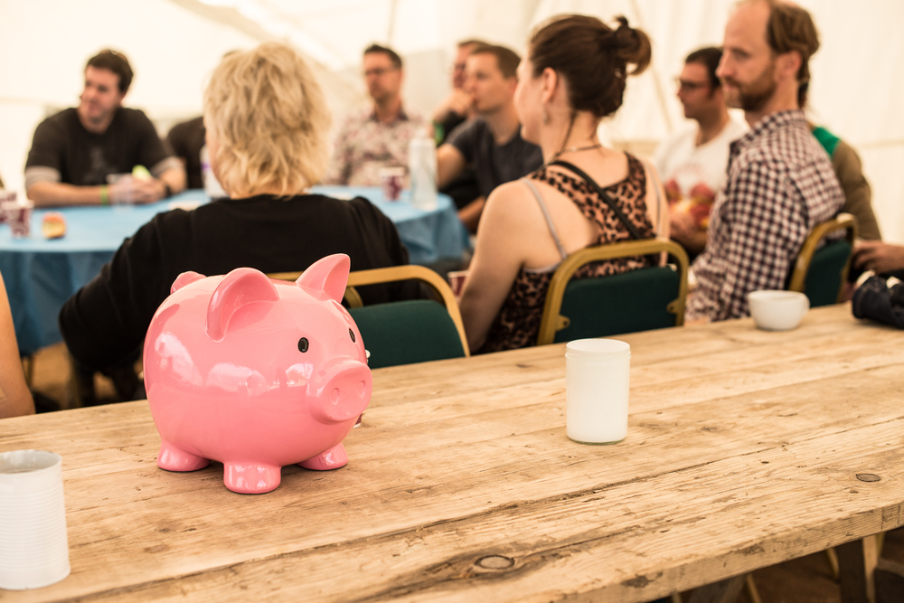 money workshop at the Happy Startup Summercamp