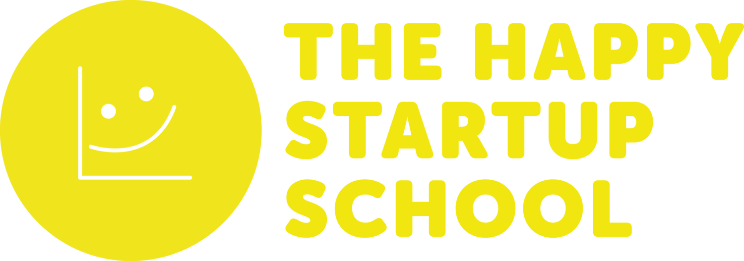 The Happy Startup School – A community of purpose-driven entrepreneurs and changemakers