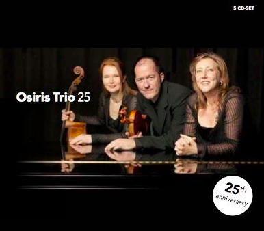Osiris Trio box of 5 cd's