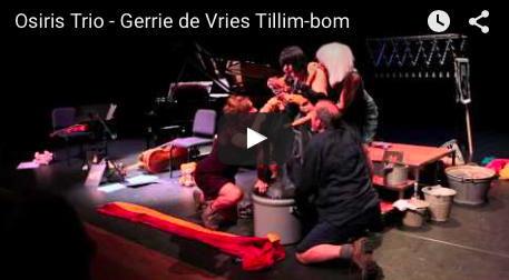 Tillim-bom program for children Osiris Trio, Gerrie de Vries -soprano Ad de Bont - text and direction