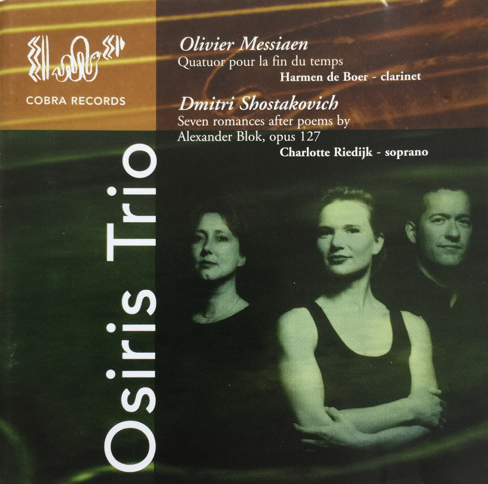 Osiris Trio Messiaen, Shostakovich