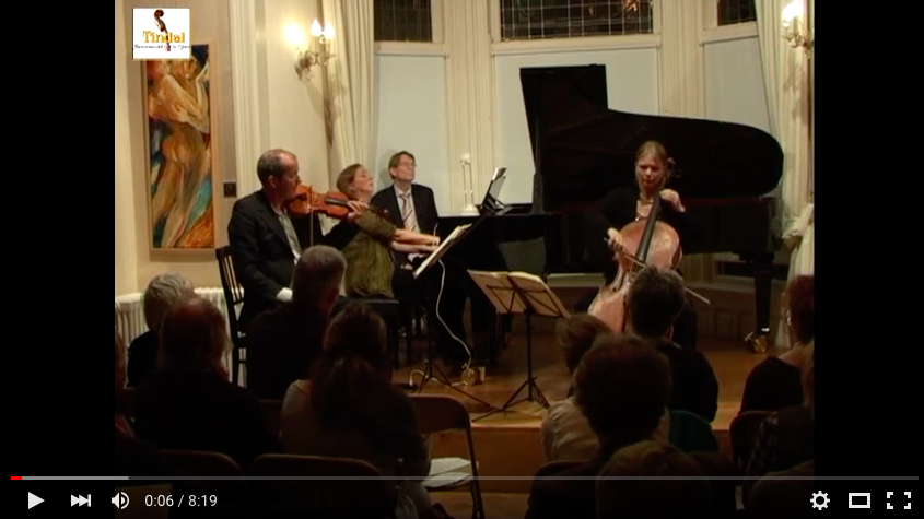 Osiris Trio -Tindalstichting life concert 17-09-2011 Felix Mendelssohn - Pianotrio nr. 2 in C klein opus 66 Allegro appassionato