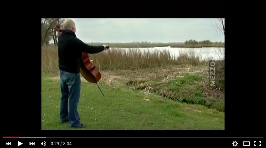 """""""Do You Still"""" music of Ernst Reijseger, part 1 Ernst Reijseger-violoncello Larissa Groeneveld-violoncello Frank Van De Laar-piano À La Dynamo de Banlieues Bleues, 2008"""
