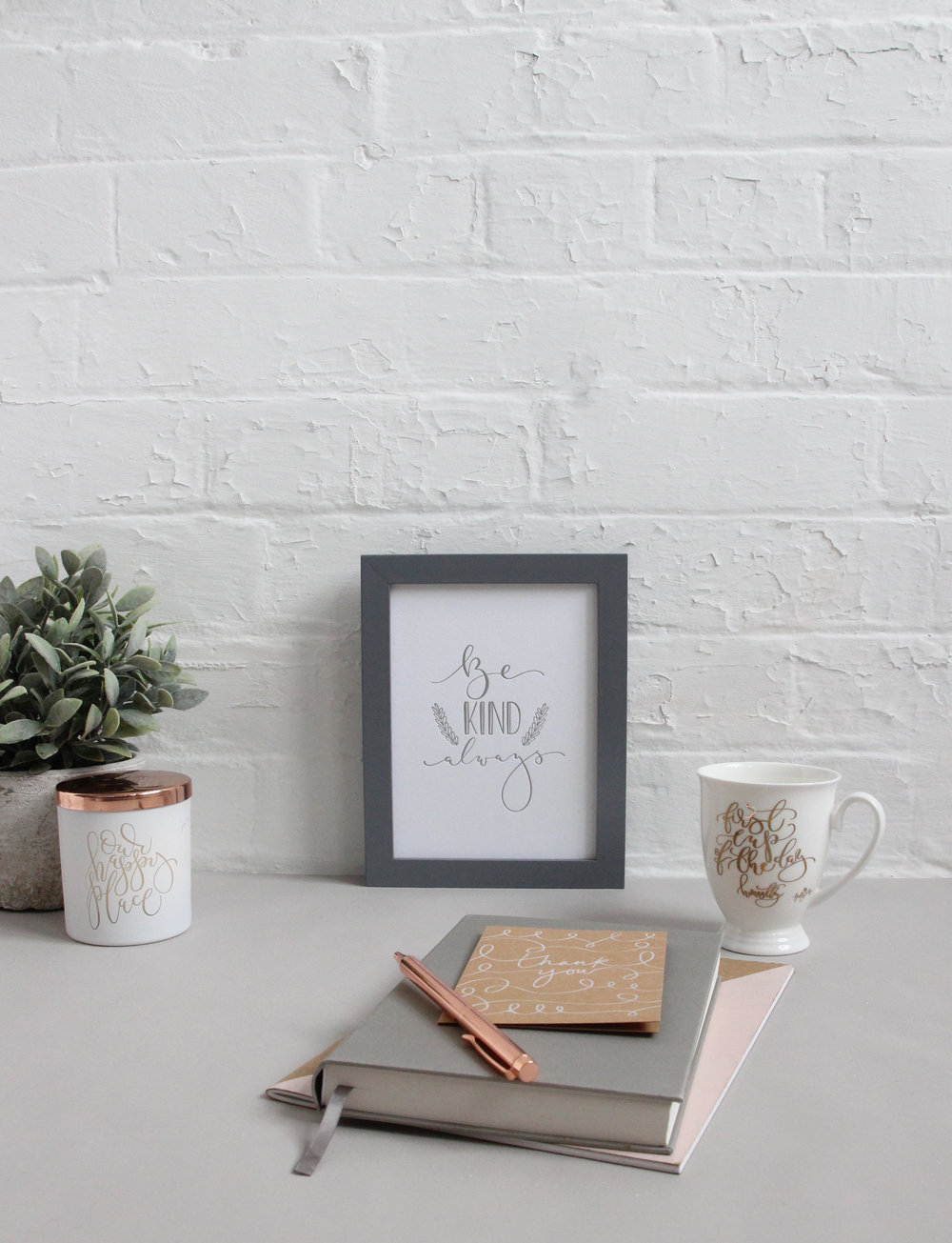 Copy of Home and Interiors accessories, mugs, prints, calligraphy and candles