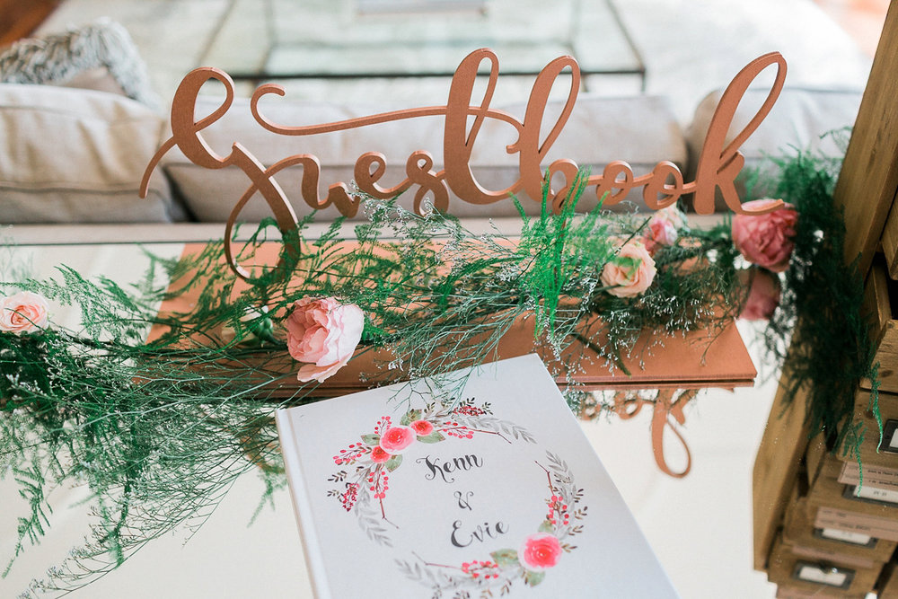 Guest book signage and ideas for weddings