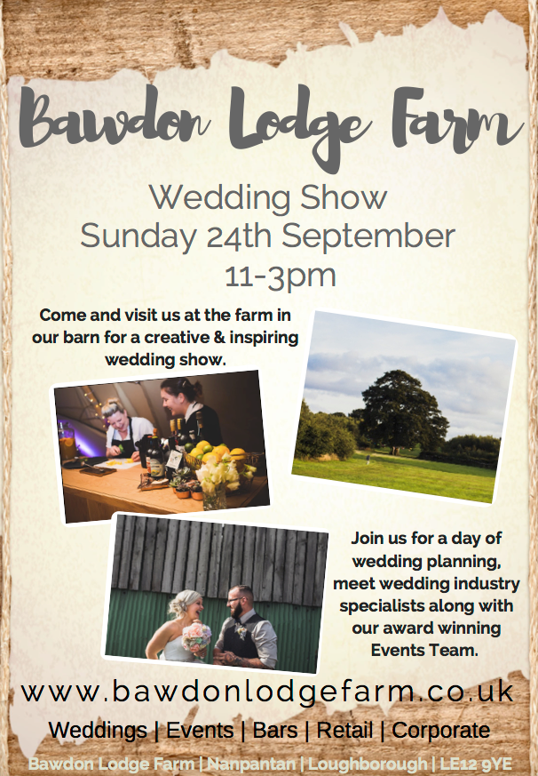 Leicestershire wedding fair