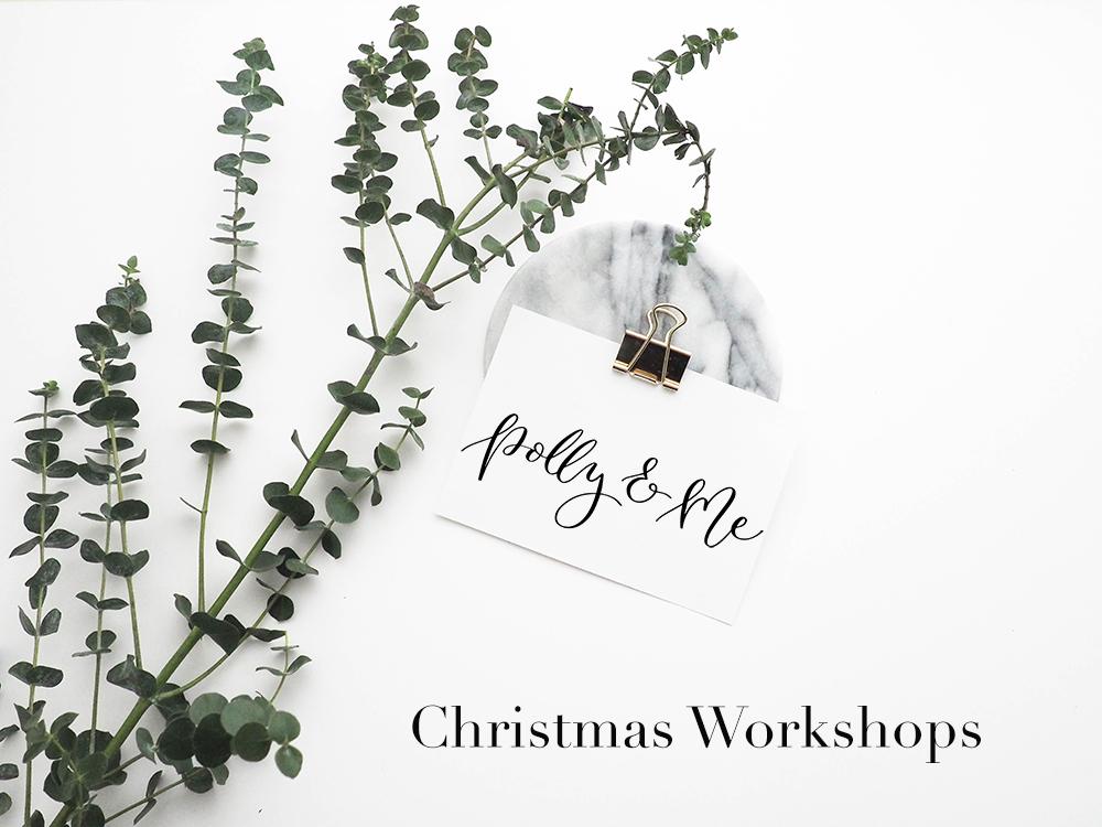 Christmas Calligraphy Workshops Nottinghamshire
