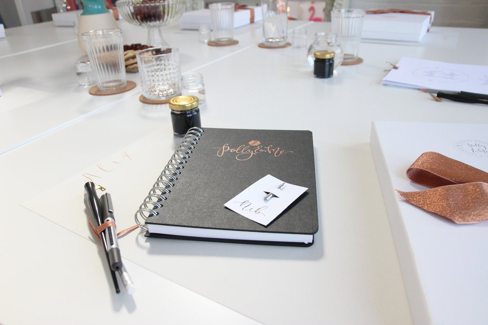 modern calligraphy workshops in Nottinghamshire