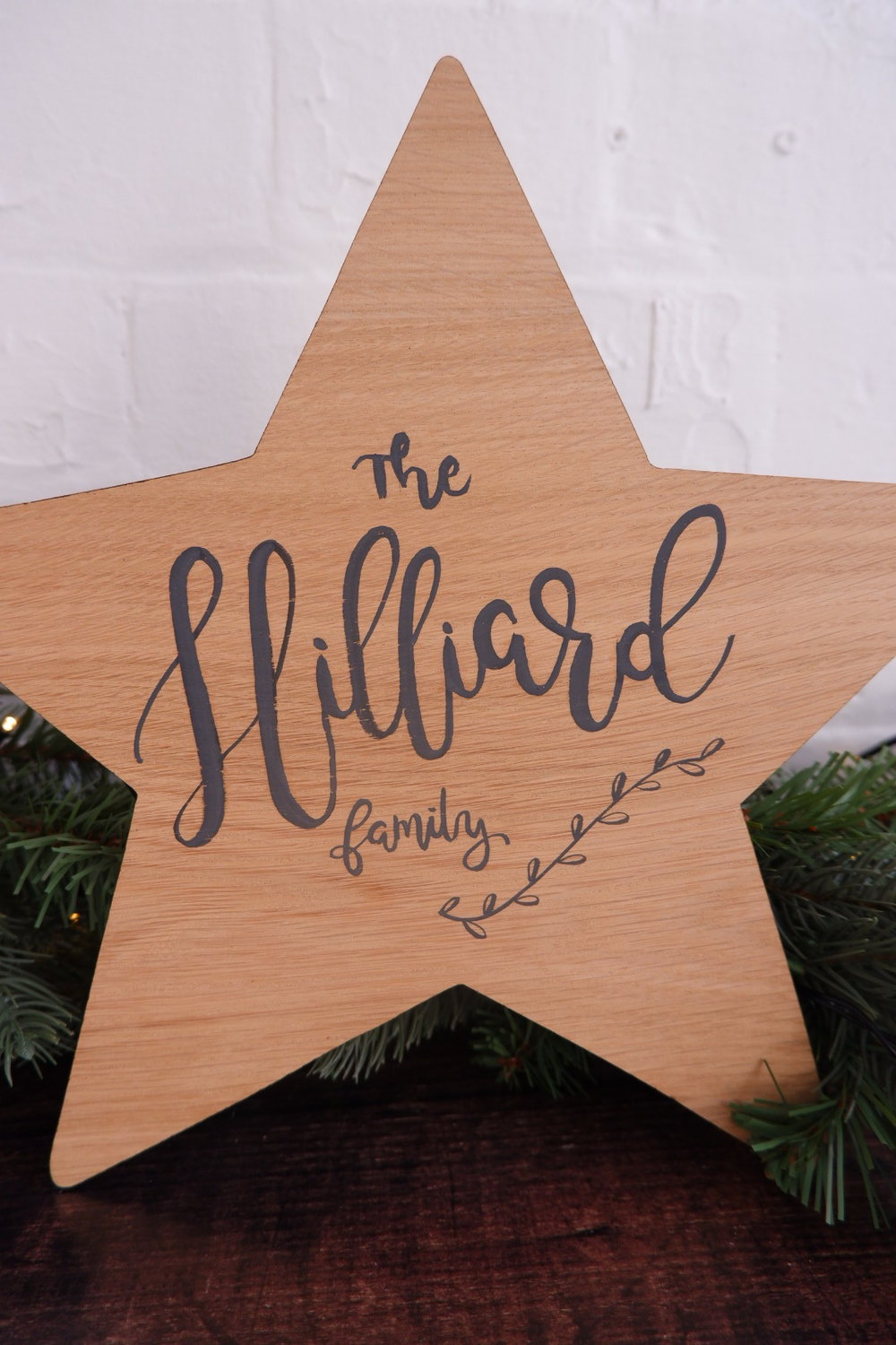 personalised Christmas accessories