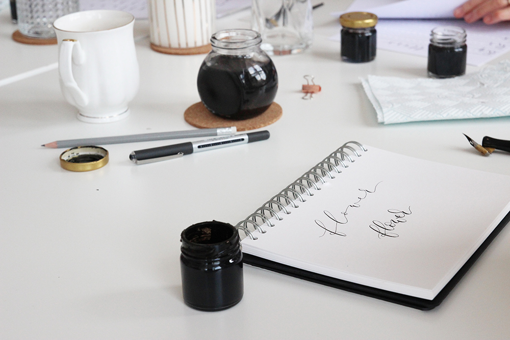 Modern calligraphy workshops in Nottingham
