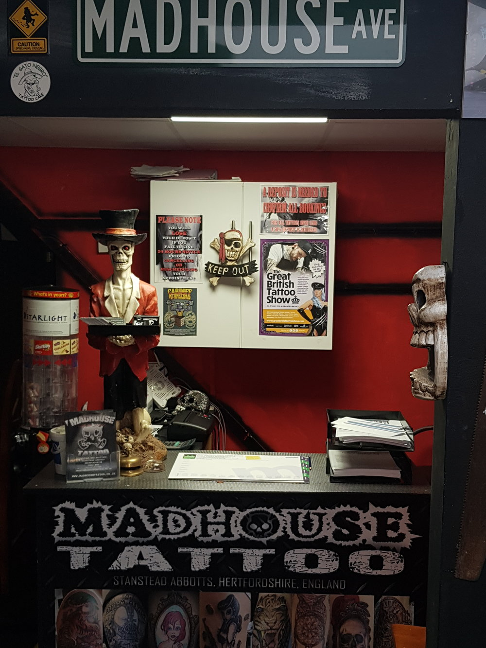 Madhouse Tattoo