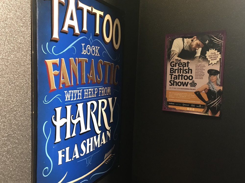 Harry Flashman's Tattoo Parlour