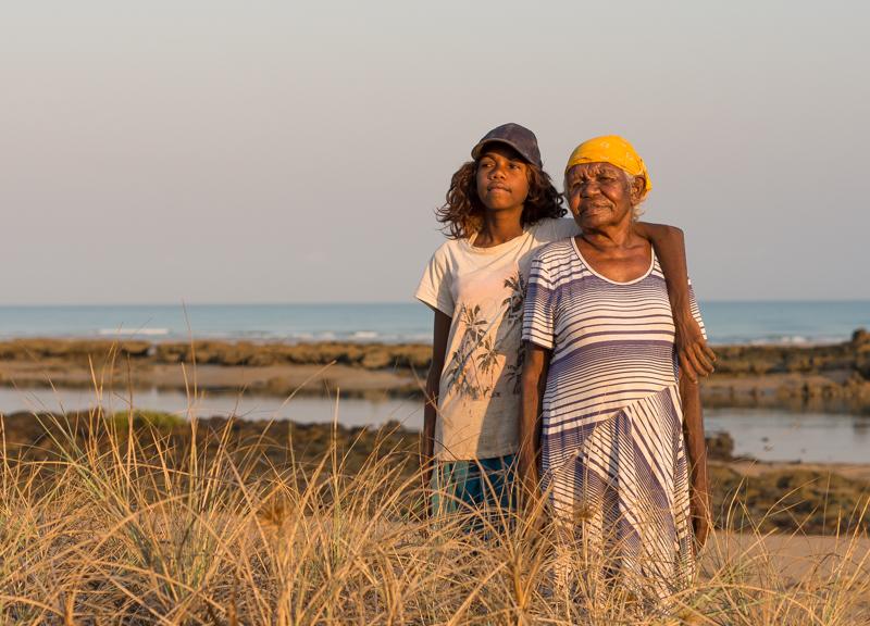 Senior Cultural Advisor Celia Bennett and granddaughter Shaneil Bennett (1 of 1).jpg