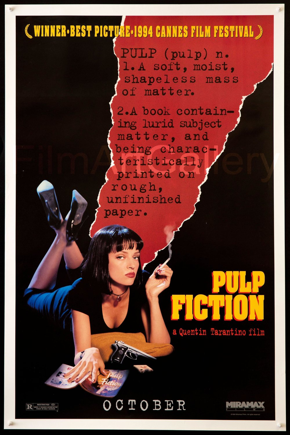Pulp Fiction (1994) - Best guess: John Travolta creates one of the best GIFs of all time.