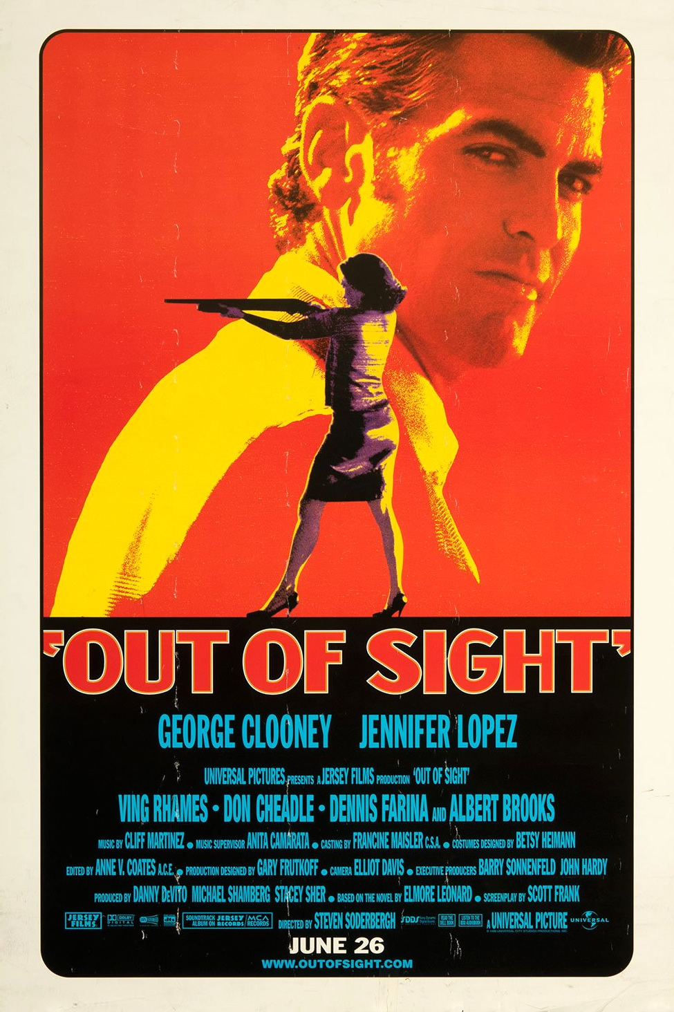 Out of Sight (1998) - Best guess: Clooney and J.Lo try to make a James Bond movie.