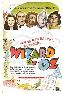 The Wizard of Oz (1939) - Best guess: A girl defeats a wizard and now we have The Wiz (which I did see) & Wicked (also saw).