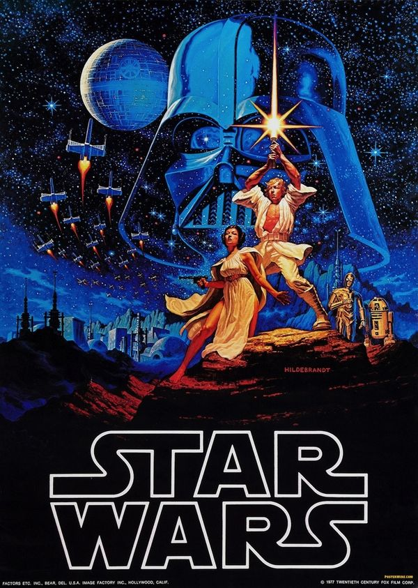 Star Wars (1977) - Best guess: An entire series of movies that I'm supposed to watch in episode order…whatever that means.