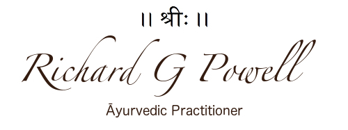Richard G Powell - Ayurveda Practitioner & Vedic Astrologer