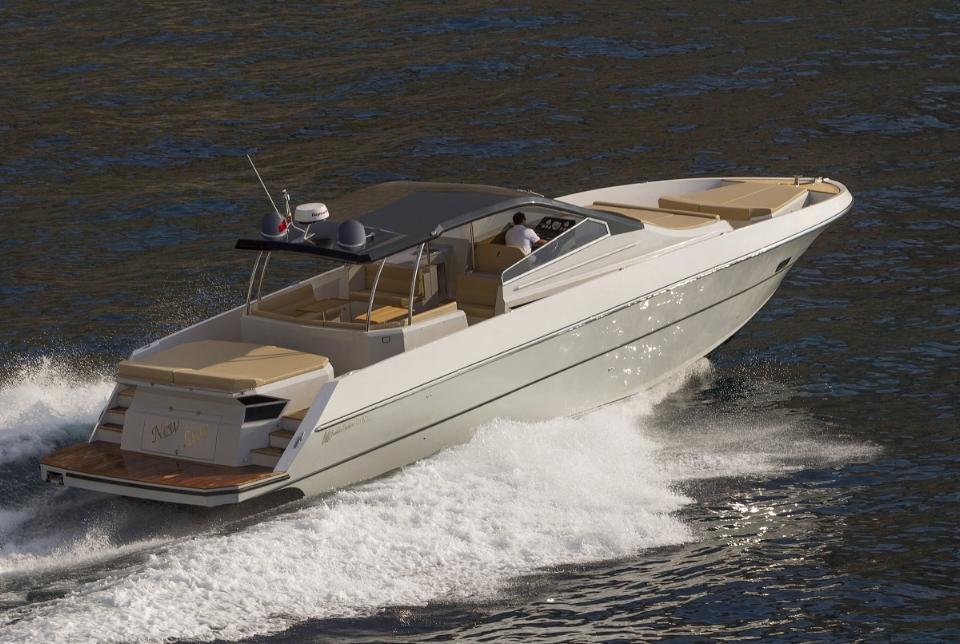 Yacht photo courtesy of Cooperative S. Antonio