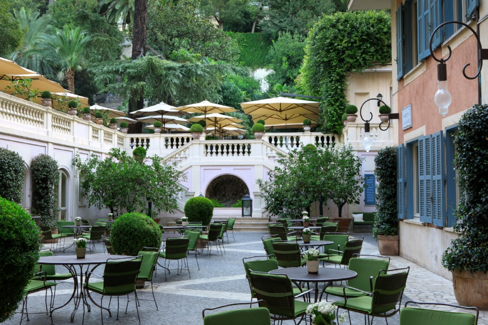 Images courtesy of Hotel de Russie