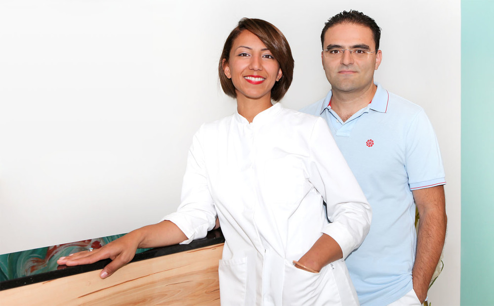 Frau Dr. Najoua Ben Saad und Herr Dr. Feyzi Mete Yücel