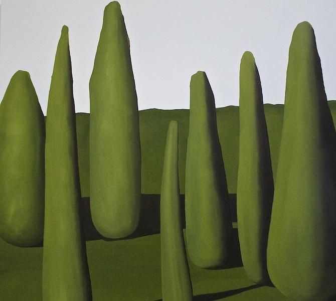 12. 'Seven Green 1' (2016) Oil on aluminium 60 x 70 cm Covadonga Valdes.jpg