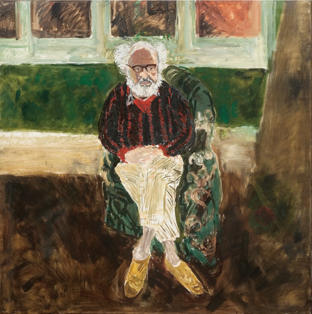 Jean Cooke 'Portrait of John Bratby Seated' .png