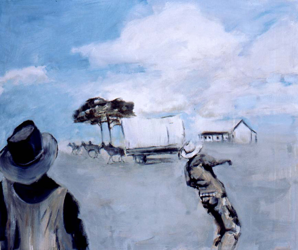 ANNE RYAN The Cowboy Paintings