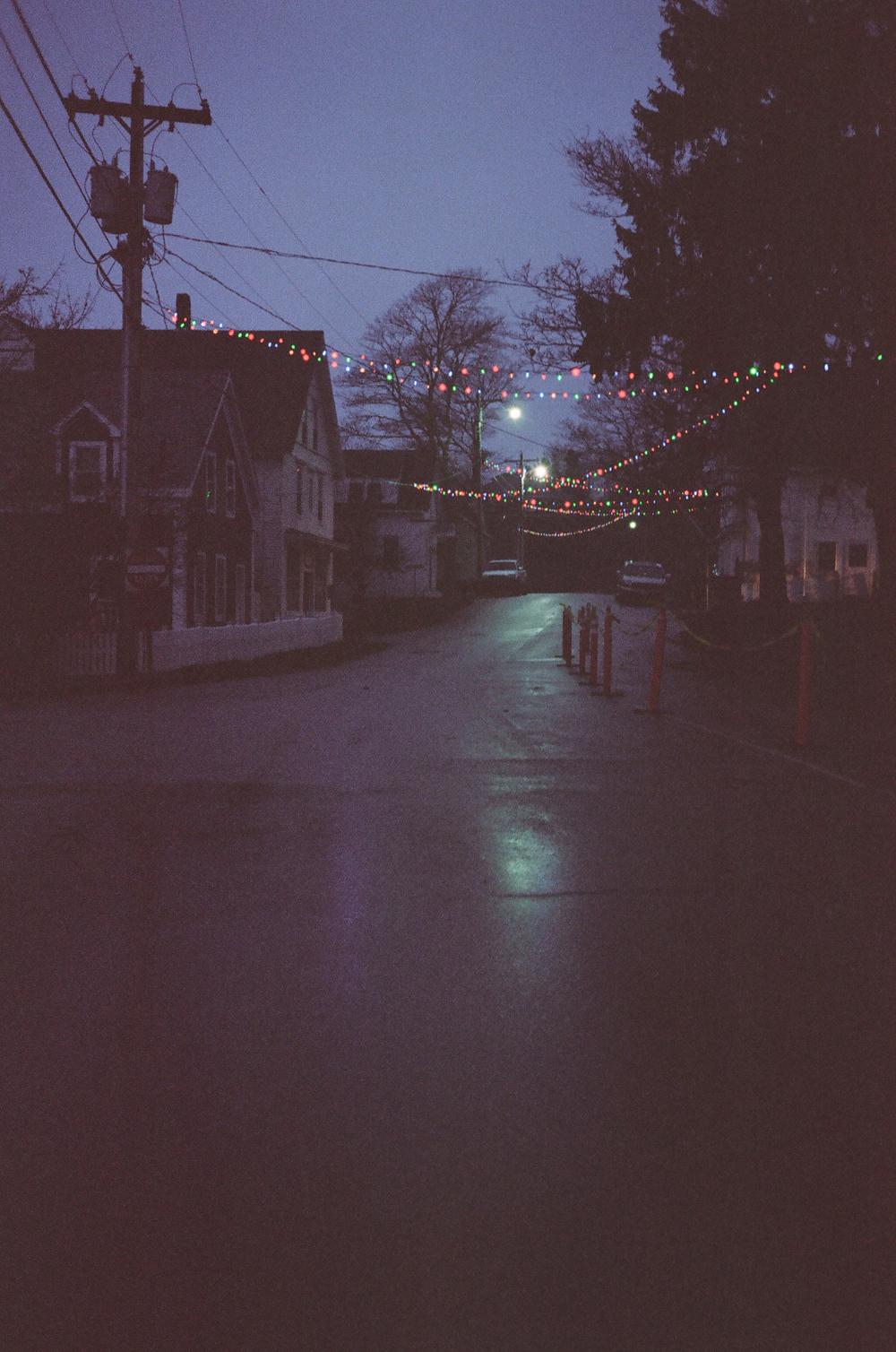 Town at Dusk