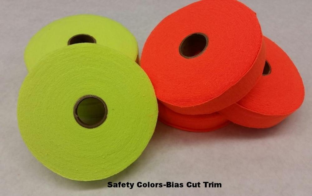 Safety colors-bias cut