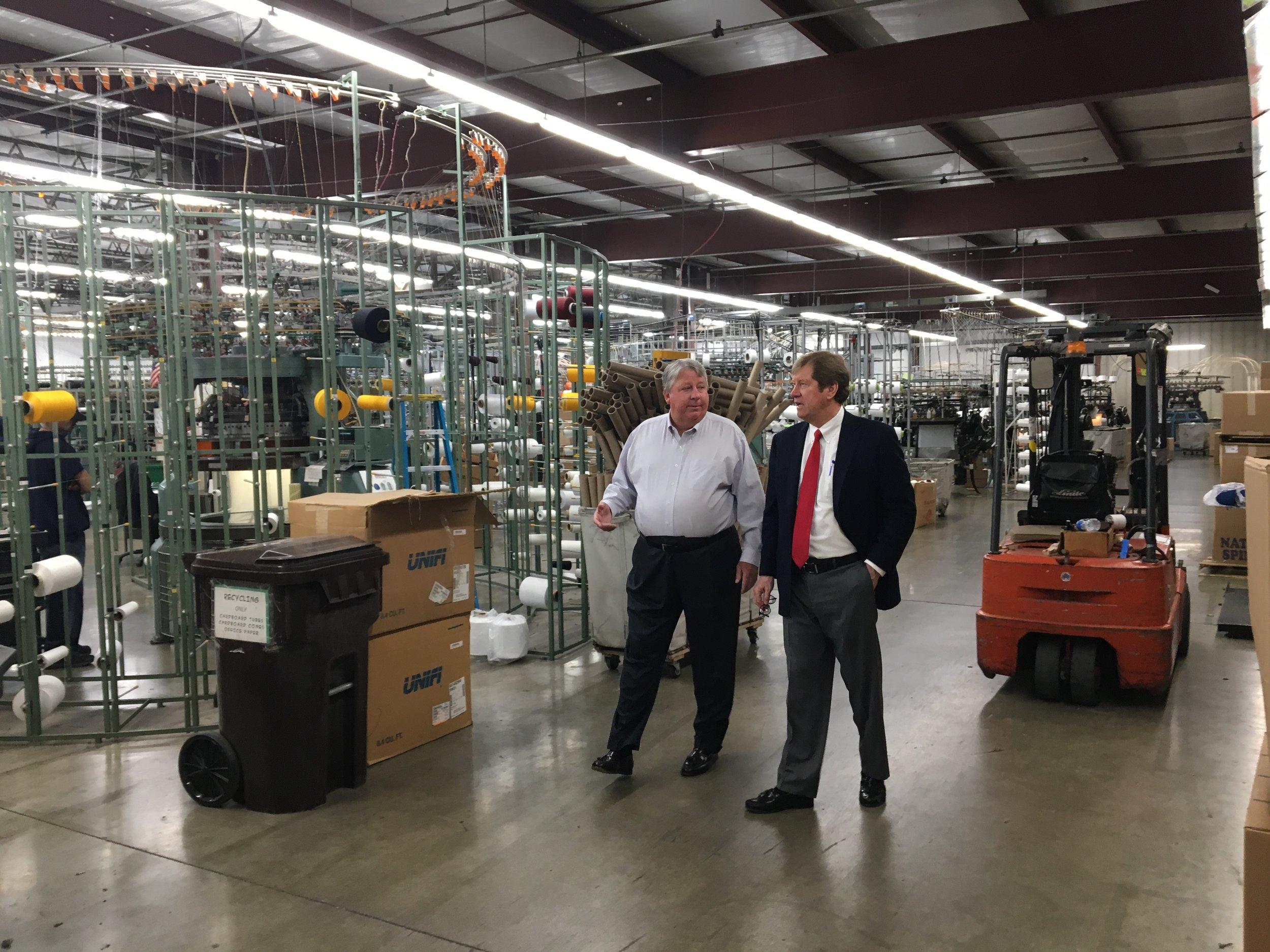 9ce709654f4 U.S. Congressman Jason Lewis visits Minnesota Knitting