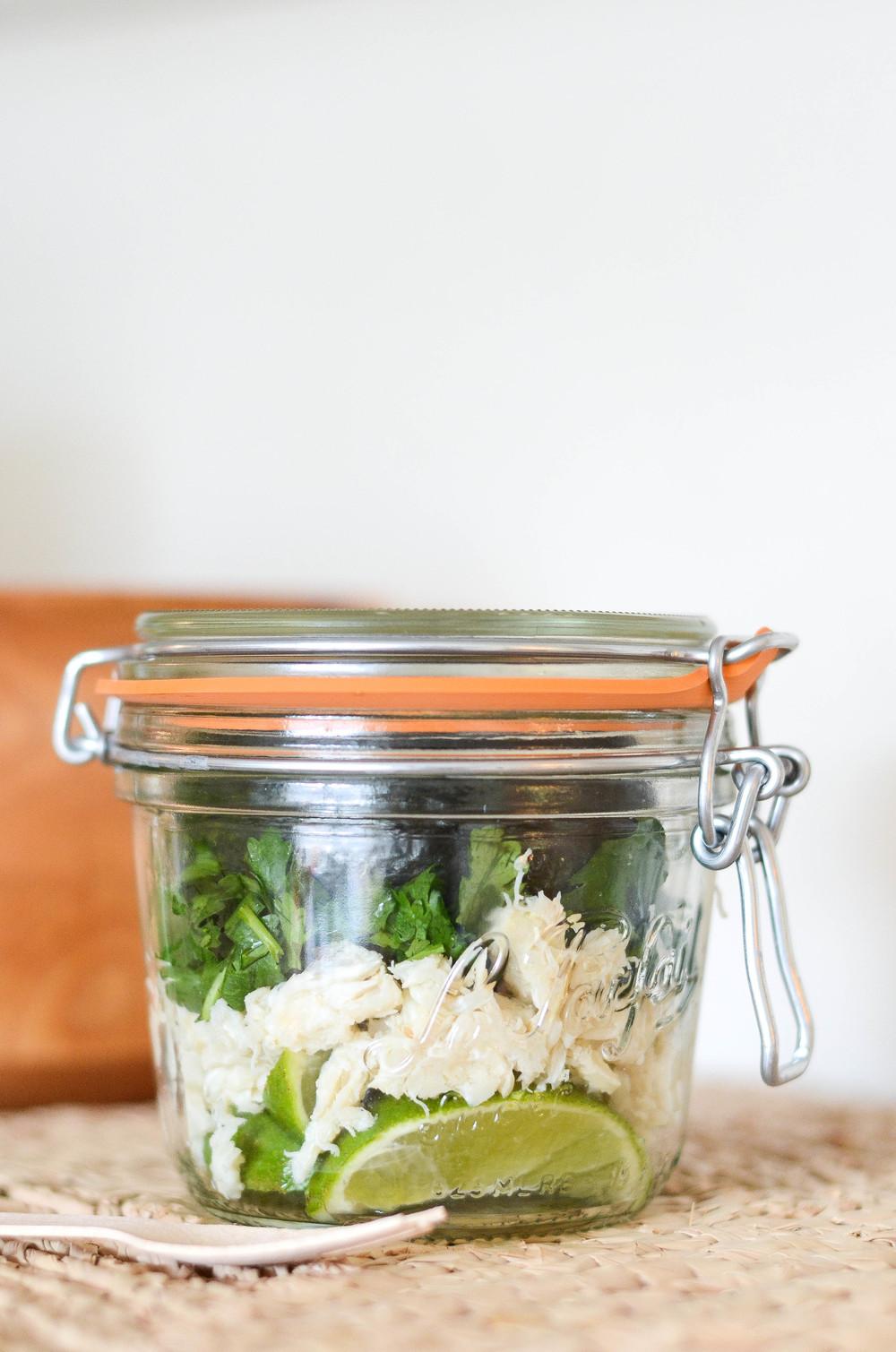 Avocado Crab Salad