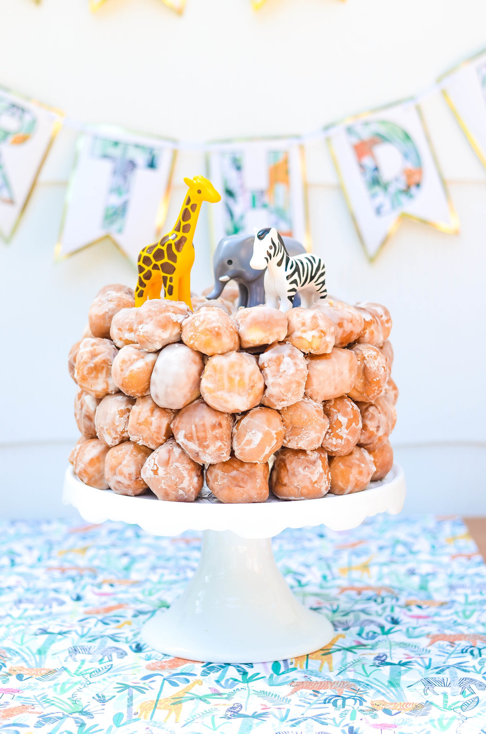 Donut Hole Cake, Perfect for Baby Shower or Birthday