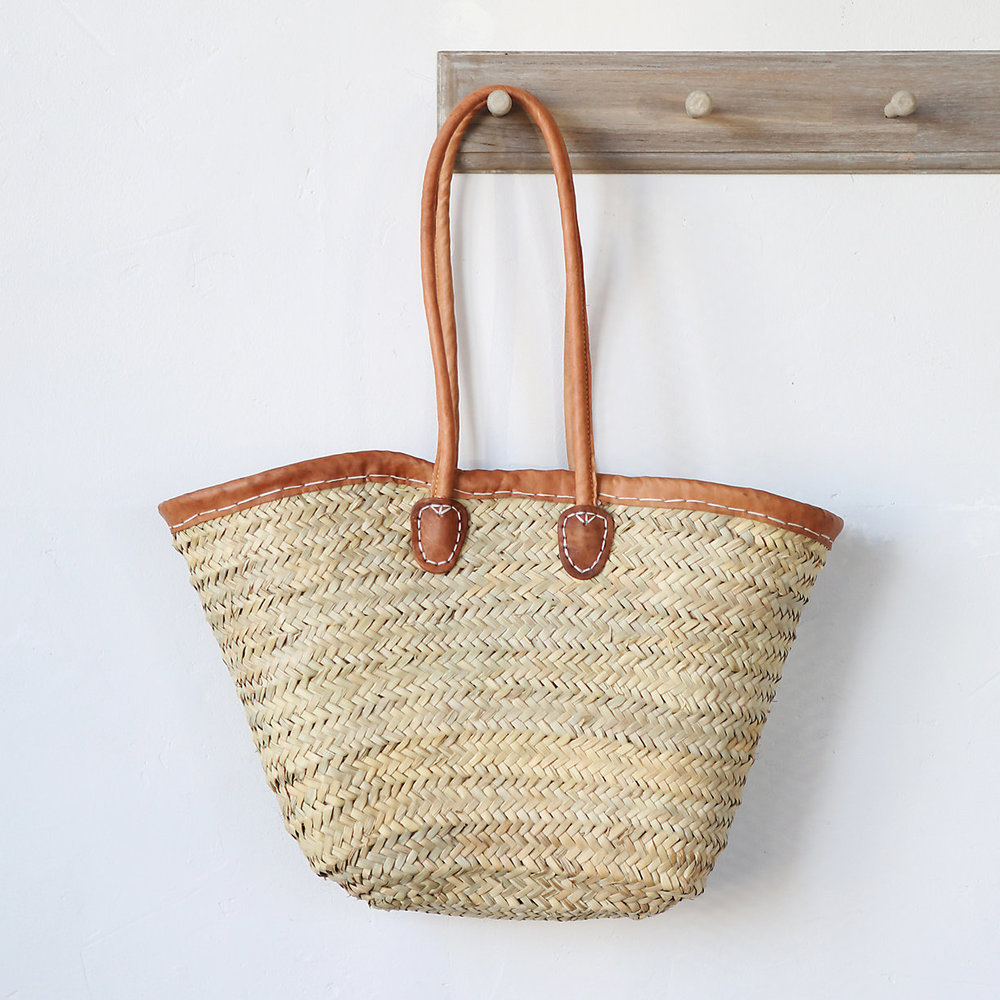Terrain, Leather Handle Market Tote