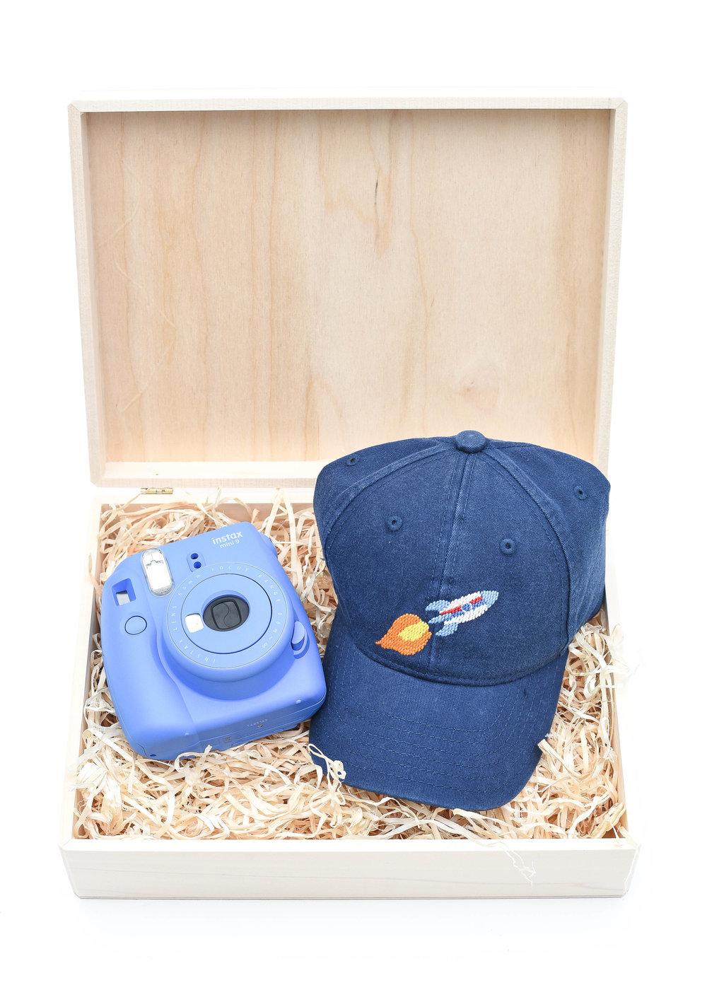 For Kids | Camera Set - L:R |Instax Mini 9 Instant Camera|Kid's Needlepoint Hat