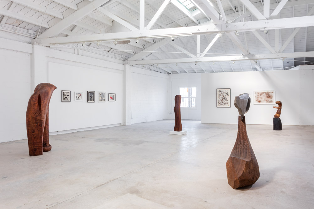 the Landing Gallery J.B. Blunk