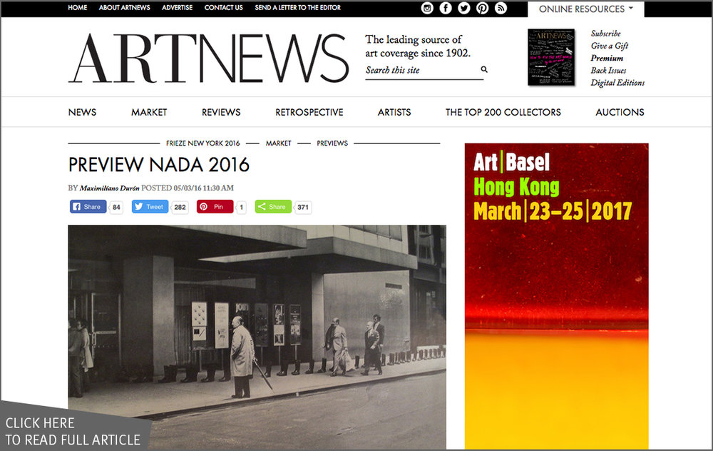 Preview NADA 2016 | ARTnews_COVER.jpg
