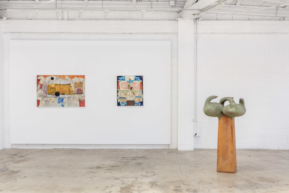 Installation view, Ken Nack / Michael Arntz, Santa Barbara: 1960s-1980s, the Landing, 2018