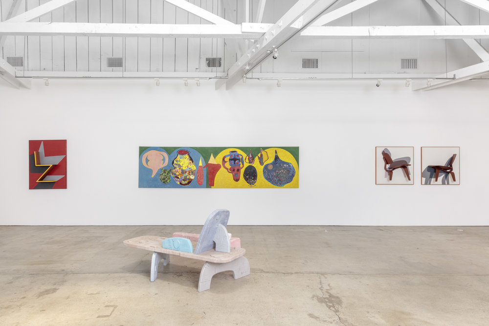 Installation view, The Useful and the Decorative, the Landing, 2017