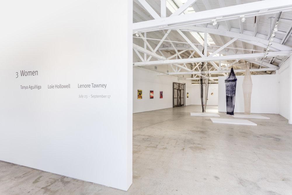 Installation view, 3 Women, the Landing, 2016