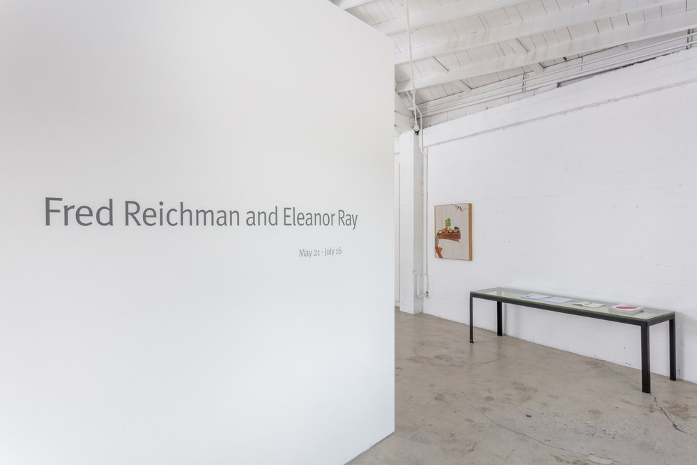 Installation view, Fred Reichman & Eleanor Ray, the Landing, 2016