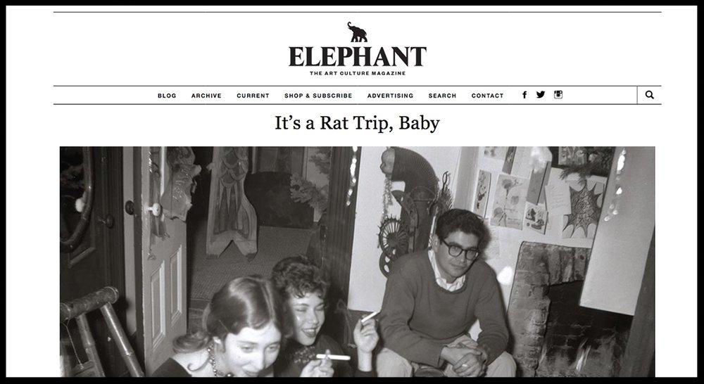 - ElephantIt's a Rat Trip, Baby