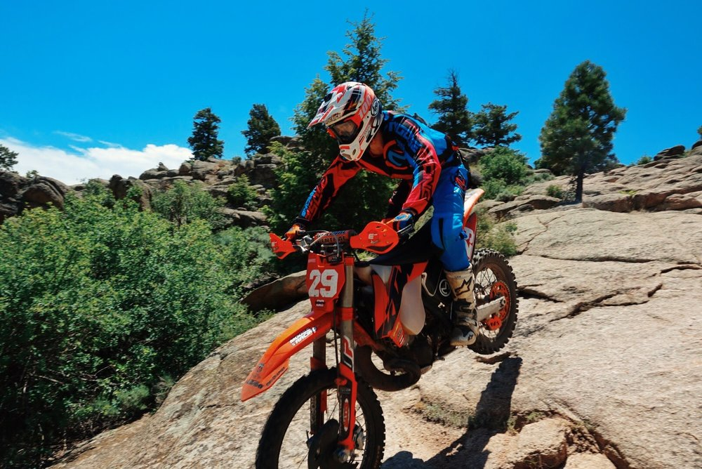 Hartman Rocks is a riding area just outside of Gunnison, Colorado and has some really cool rocks features to play on.