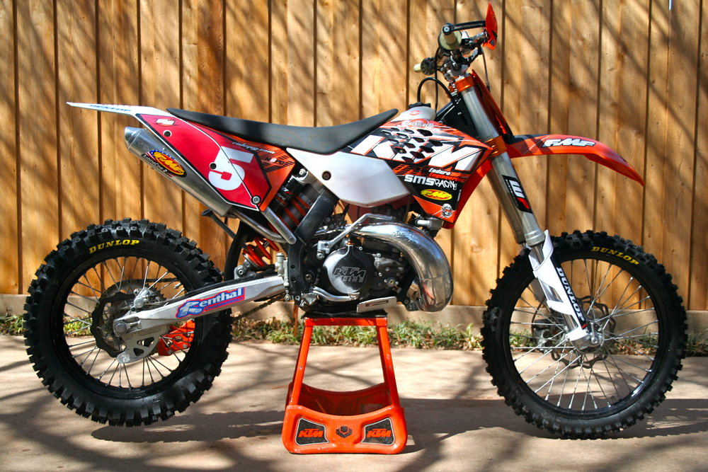 2010 KTM 250 XC National Enduro Race Bike