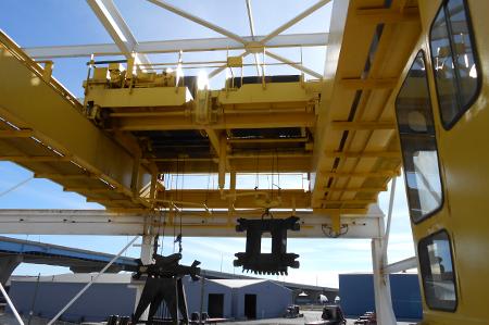 Jones Island Crane Controls