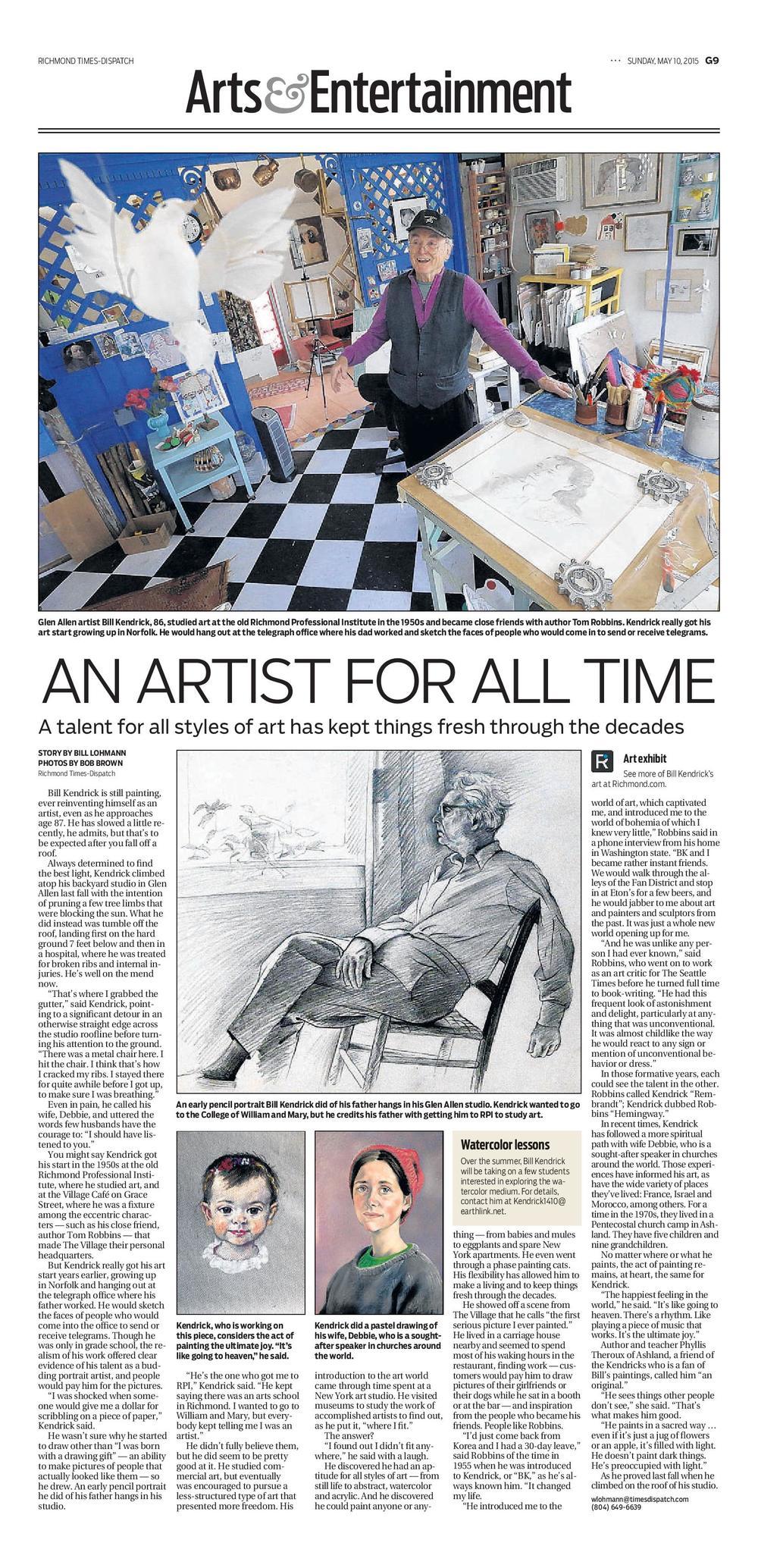 Richmond Times-Dispatch article