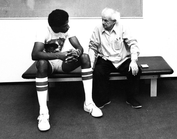 Moshe and Dr. J