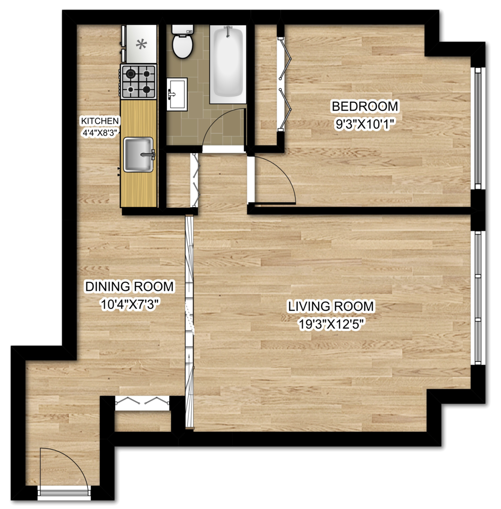 20 E Scott Floor Plan 1 Bedroom.png
