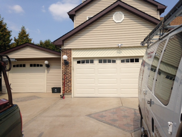 New garage door installation naperville
