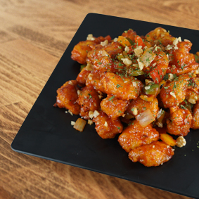 Korean Spicy Fried Chicken